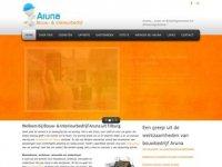 Screenshot van aruna-create.nl