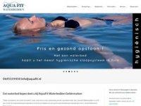 Screenshot van aquafit.nl