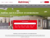 Astrimex - afbouwmaterialen, systeemplafonds ...