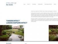 Tuinarchitect en landschapsarchitect webtop20