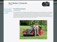 Screenshot van bertwoltjes.nl