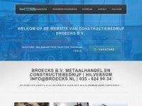 Constructiebedrijf Broecks bv