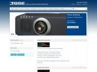 Screenshot van bse-pro.nl