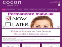 Screenshot van cocon-haar-beauty.nl