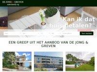 De Jong & Greven Makelaardij o/g, ...