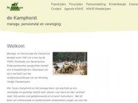 De Kamphorst - Manege en Pensionstal