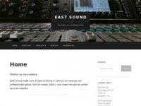 Screenshot van eastsound.nl
