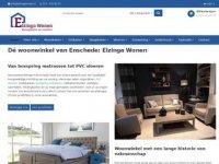 Screenshot van elzingawonen.nl