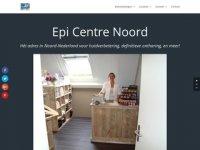 Screenshot van epicentrenoord.nl