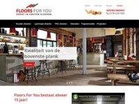 Floors For You - Discounter in houten vloeren
