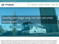 Screenshot van gademannvervoer.nl