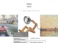 Screenshot van galerie-ecce.nl