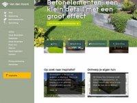 Screenshot van gebrvdhoorn.nl