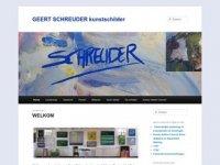 Geert Schreuder - Kunstschilder (NL)